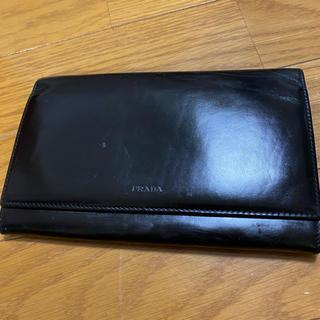 プラダ(PRADA)の悠様専用❤正規品PRADA二つ折り革長財布❤(財布)