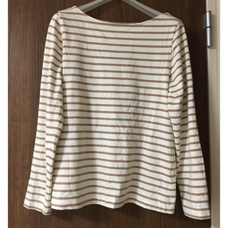 エイチアンドエム(H&M)のボーダー カットソー ロンT  h&m(Tシャツ(長袖/七分))