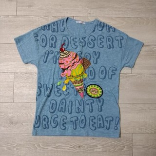 ラフ(rough)のrough  アイス柄Tシャツ(Tシャツ(半袖/袖なし))