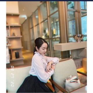 チェスティ(Chesty)のakiki frill frill bowtie blouse/ grage(シャツ/ブラウス(長袖/七分))