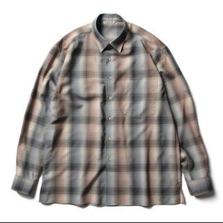 コモリ(COMOLI)のAURALEE super light wool check shirt 4(シャツ)