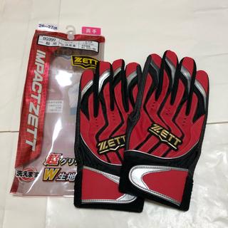 ZETT - 【未使用/Lサイズ】ゼット(ZETT)バッティンググローブ