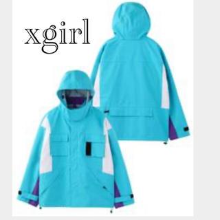 エックスガール(X-girl)のX girl マウンテンパーカー 新品(マウンテンパーカー)
