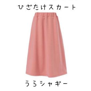 ユメテンボウ(夢展望)の夢展望 膝丈フレアスカート 裏シャギー Lサイズ(ひざ丈スカート)