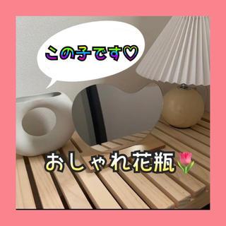 花瓶 韓国 インテリア オブジェ ドライフラワー 花 置物 海外 北欧 白(花瓶)