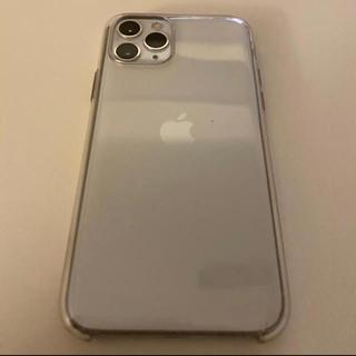 アップル(Apple)のiphone 11pro 256GB シルバー(スマートフォン本体)