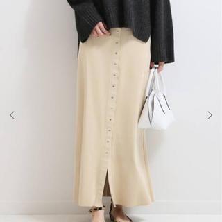 ノーブル(Noble)のNoble フェイクスエードタイトスカート40(ロングスカート)