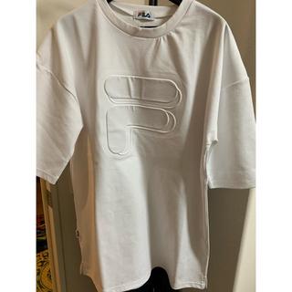 フィラ(FILA)のレディース ロングTシャツ(Tシャツ(半袖/袖なし))
