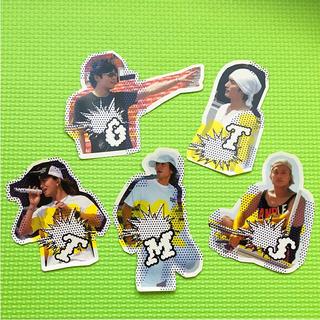 スマップ(SMAP)の同梱100円 SMAP シール CD購入者限定シール(アイドルグッズ)