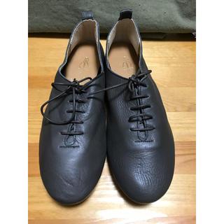 あしながおじさん - 最終価格 あしながおじさん レースアップシューズ 革靴 24cm日本製