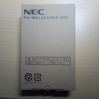 エヌイーシー(NEC)のルーター メーカー保証付き(PC周辺機器)