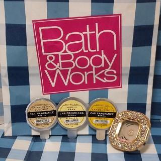 バスアンドボディーワークス(Bath & Body Works)のバスアンドボディワークス カーセントポータブル セット(車内アクセサリ)