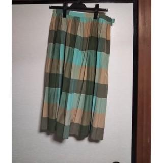 ドットアンドストライプスチャイルドウーマン(Dot&Stripes CHILDWOMAN)の(新品)Dot&Stripes チェックスカート(ひざ丈スカート)