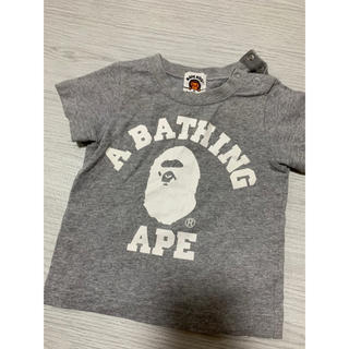 A BATHING APE - bape kidsTシャツ