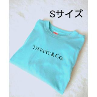 ティファニー(Tiffany & Co.)のティファニー Tiffany Tシャツ 半袖 トップス ロゴ Sサイズ おしゃれ(Tシャツ/カットソー(半袖/袖なし))