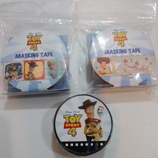 トイストーリー(トイ・ストーリー)のトイストーリー マスキングテープ 3種類(テープ/マスキングテープ)