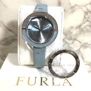 フルラ(Furla)の【未使用】FURLA フルラ 腕時計 CLUB クラブ 替えベゼル付 ブルー(腕時計)