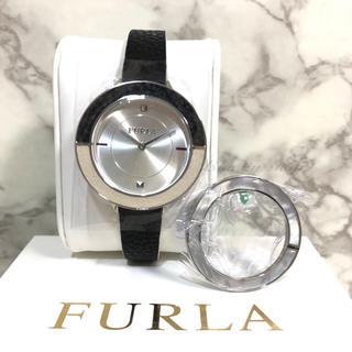 フルラ(Furla)の【未使用】FURLA フルラ 腕時計 CLUB クラブ 替えベゼル付 白黒(腕時計)