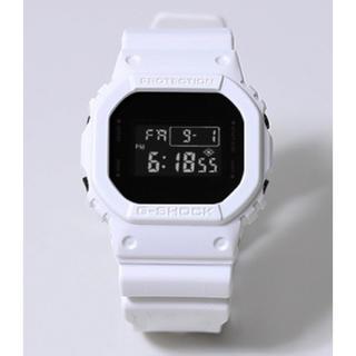 ジーショック(G-SHOCK)のG-SHOCK×STUDIOUS 限定 DW-5600E-1 WHITE(腕時計)