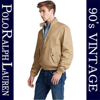 ポロラルフローレン(POLO RALPH LAUREN)の古着 Lサイズ ポロ ラルフローレン ヴィンテージ スエード レザー ジャケット(レザージャケット)