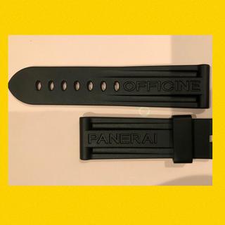 パネライ(PANERAI)の純正品 未使用 パネライ ラバー ベルト 44mm用 ルミノール マリーナ 尾錠(ラバーベルト)