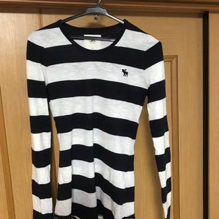 アバクロンビーアンドフィッチ(Abercrombie&Fitch)のアバクロンビー ボーダー 長袖Tシャツ(Tシャツ(長袖/七分))