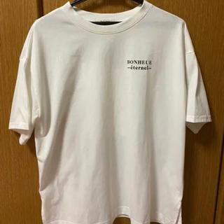 ダブルクローゼット(w closet)のバックプリント Tシャツ(Tシャツ(半袖/袖なし))