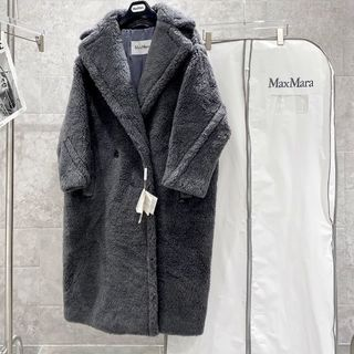 Max Mara - Max Mara Teddy Bear テディベア コート グレー S