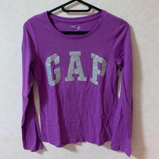 ギャップ(GAP)のロンT 紫 GAP キラキラ(Tシャツ(長袖/七分))