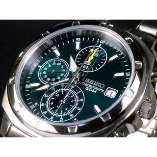 セイコー(SEIKO)のセイコー時計☆深い緑が印象的なメタリックグリーン!!オシャレさを演出☆(腕時計(アナログ))