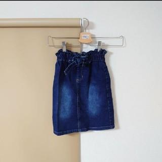 女の子 デニムスカート 120(スカート)