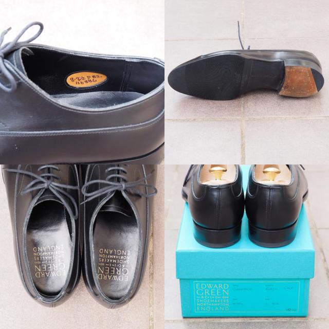 EDWARD GREEN(エドワードグリーン)のEDWARD GREEN Gladstone Black エドワードグリーン メンズの靴/シューズ(ドレス/ビジネス)の商品写真