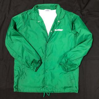 エクストララージ(XLARGE)のXLARGE コーチジャケット 緑 M(ナイロンジャケット)