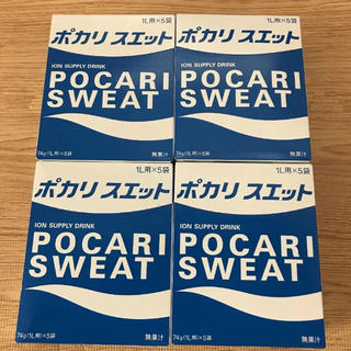 オオツカセイヤク(大塚製薬)のポカリスエット 粉末 4箱 20袋(その他)