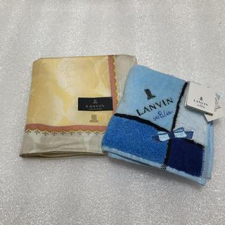 ランバンオンブルー(LANVIN en Bleu)のハンカチ☆ランバン  オンブルー(ハンカチ)