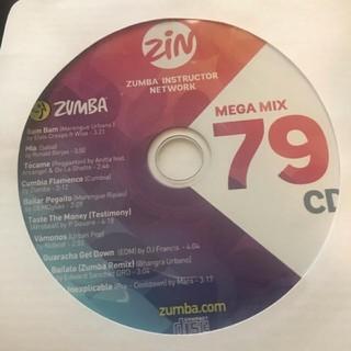 ズンバ(Zumba)のZUMBA   mega mix79(スポーツ/フィットネス)
