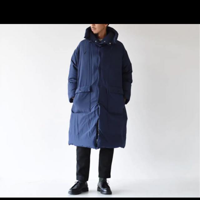 1LDK SELECT(ワンエルディーケーセレクト)の《限定値下》KAPTAIN SUNSHINE  Eskimo Down Coat メンズのジャケット/アウター(ステンカラーコート)の商品写真