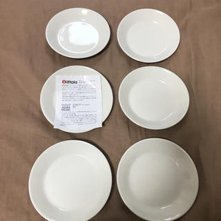 イッタラ(iittala)のイッタラ ティーマ  ホワイト 12センチ 6枚セット 新品未使用 自宅保管品(食器)