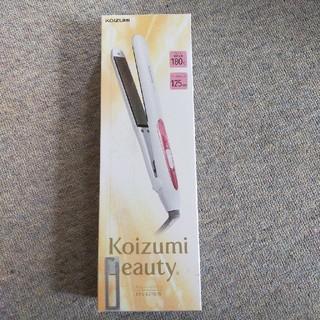 コイズミ(KOIZUMI)の新品 KOIZUMI ストレートアイロン ヘアアイロン(ヘアアイロン)