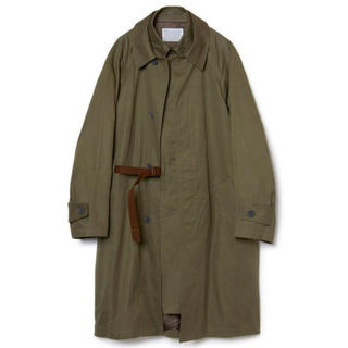 カラー(kolor)のkolor 20aw cotton gabardine layered coat(ステンカラーコート)