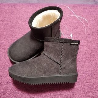 フタフタ(futafuta)のフタフタ ブーツ 黒 14センチ(ブーツ)