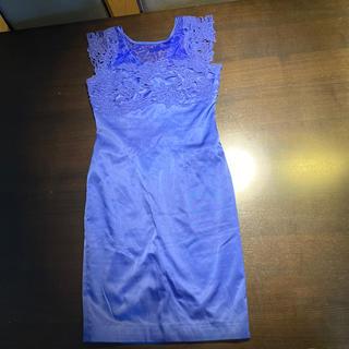 ザラ(ZARA)のロイヤルブルー ドレス(ナイトドレス)