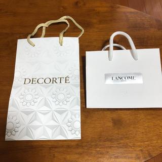 コスメデコルテ(COSME DECORTE)のコスメデコルテ  ランコム ショップ袋セット(ショップ袋)