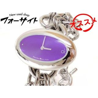 シーケーカルバンクライン(ck Calvin Klein)のカルバンクライン 時計 ■ ステンレス チェーン ベルト 楕円(腕時計)