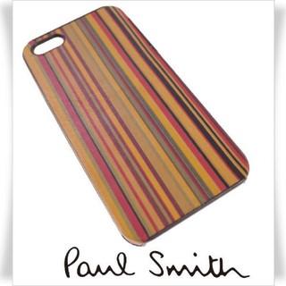 ポールスミス(Paul Smith)のPaul Smith スマホケース iPhone5c ヴィンテージストライプ(iPhoneケース)