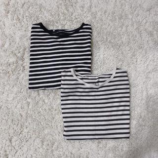 グレイル(GRL)のGRL ボーダー シャツ(Tシャツ/カットソー(七分/長袖))