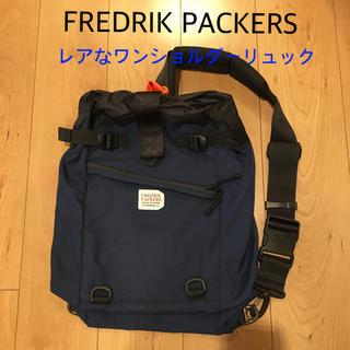 フリークスストア(FREAK'S STORE)のフレドリックパッカーズ ワンショルダー リュック ネイビー バックパック(バッグパック/リュック)