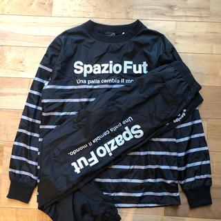 Spazio スパッツィオ裏地ウインドピステ上下セットMサイズブラック(ウェア)