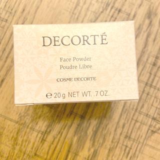 コスメデコルテ(COSME DECORTE)の新品未使用 コスメデコルテ ミスティーベージュ(フェイスパウダー)