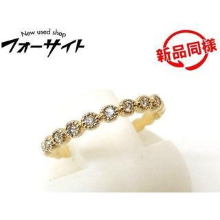 アガット(agete)のアガット リング ■ 2号 ピンキーリング K10 YG(リング(指輪))
